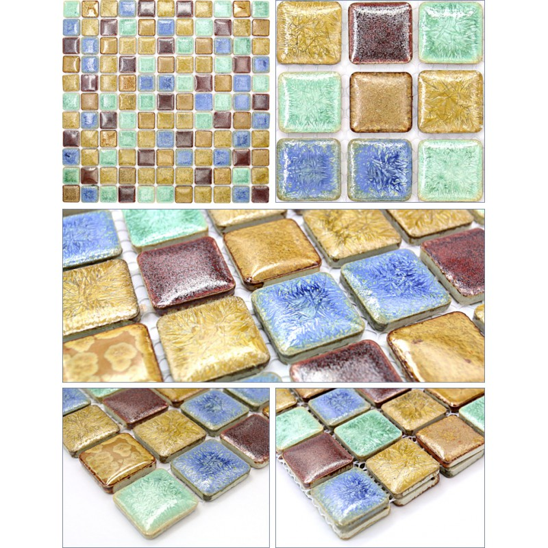 Porcelain Mosaic Tile Sheets Tile Design Ideas