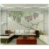 backsplash puzzle tiles hand made flower tile crystal glass mosaic tile wall murals tiles crystal patterns GRST017