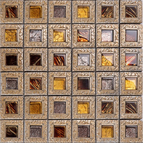 crystal glass tiles for kitchen and bathroom brown mosaic glass block