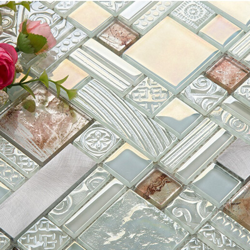 Delighted 16X16 Ceiling Tiles Tiny 2 Inch Ceramic Tile Solid 2 X 6 Glass Subway Tile 3X6 Marble Subway Tile Old 4 Ceramic Tile Yellow8X8 Ceramic Tile Deluxe Glass Metal Mosaic Sheets Brushed Aluminum Backsplash Glass ..