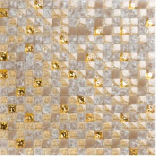Yellow crystal glass tiles for kitchen and bathroom wall shower tile designs gold crackle glass mosaic dinning room deco KLGT406