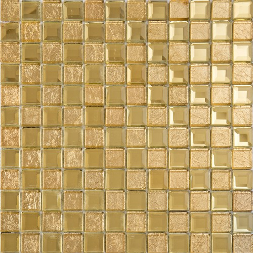 Gold mirror glass diamond crystal tile patterns square wall backsplash tiles bathroom shower wall mirrored tile KLGT4015