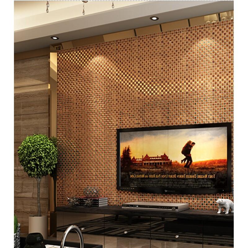 Mirror Tiles For Wall brown mirror glass diamond crystal tile square wall backsplash