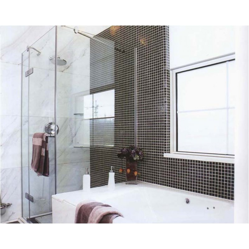 porcelain mosaic tile black glazed ceramic tiles kitchen backsplash tiles shower wall stickers swimming pool floor tile - Ceramic Tile Kitchen Backsplash