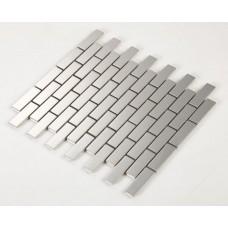 stainless steel backsplash cheap rectangle kitchen back splash silver metal mosaic subway sheets HC3 bathroom wall tiles shower floor mirror sticker