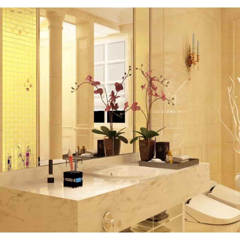 Gold Porcelain Tile Square 1 Quot Glaze Ceramic Mosaic Plating