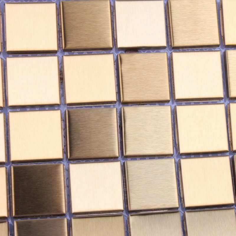 tile mosaic stickers brushed interior aluminum wall panels