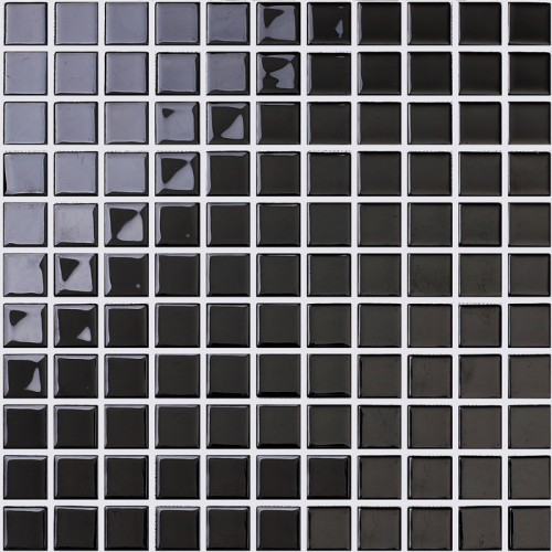 black crystal glass mosaic tile backsplash bathroom wall stickers for