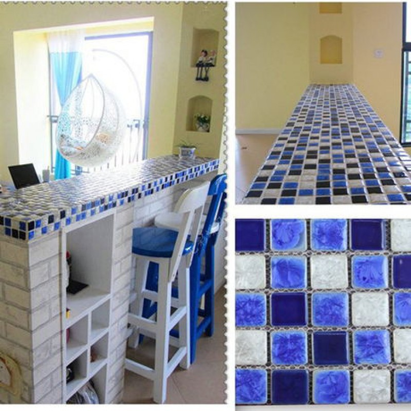 Kitchen Tiles Mosaic and white porcelain tile mosaic tiles glazed ceramic tile bathroom