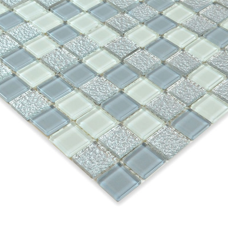 Glass Mosaic Tile Sheets Crystal Glass Swimming Pool Tiles Bathroom Floor  Sticker Kitchen Liner Wall Tile Backsplash HS0022 Part 72