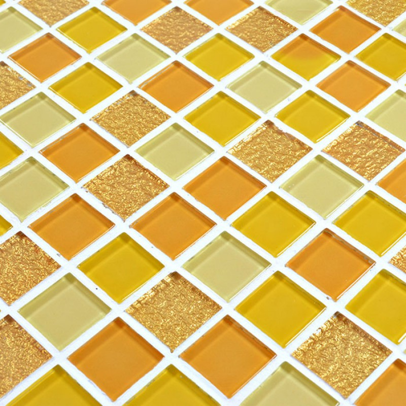 Glass Mosaic Tile sheets Crystal Glass Swimming Pool Tiles