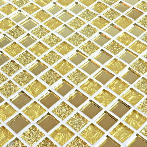 Crystal glass wall tiles mirror tile backsplash kitchen Mosaic kitchen wall tiles ideas