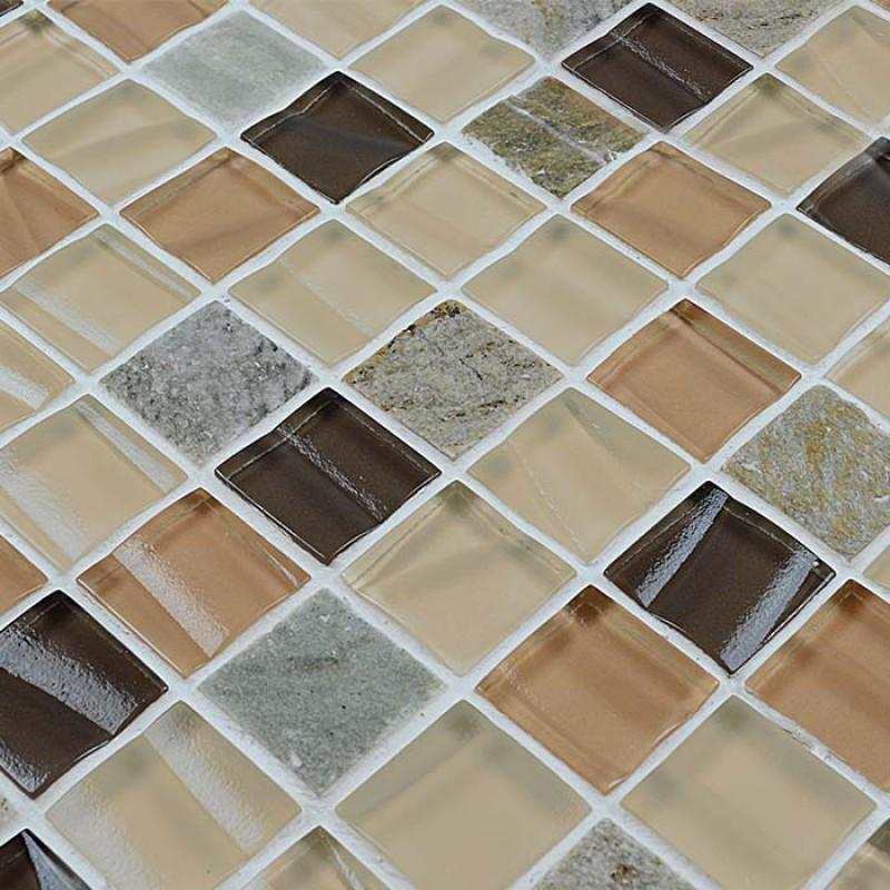 mosaic tile sheets glass tile backsplash
