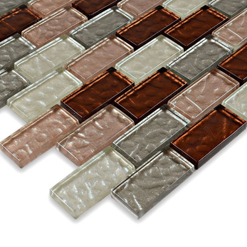 crystal glass tile sheets kitchen backsplash wall tile