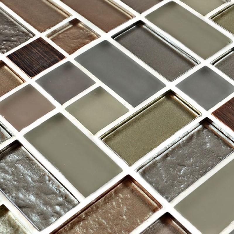 crystal glass tile sheets kitchen backsplash wall tiles