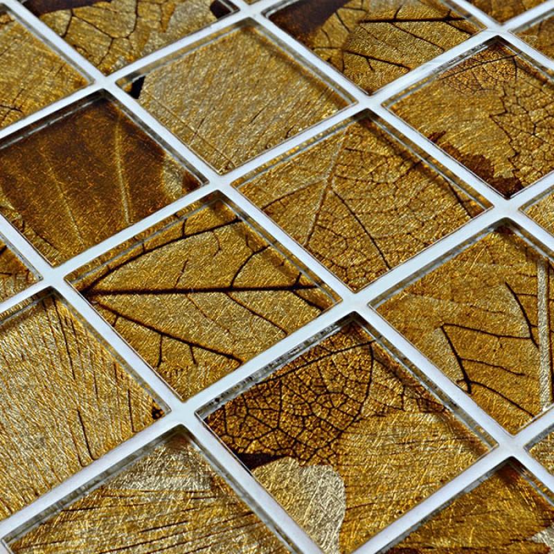Gl Mosaic Tile Sheets Crystal Brick Kitchen Backsplash Tiles Designs Bathroom Wall Stickers Hy002