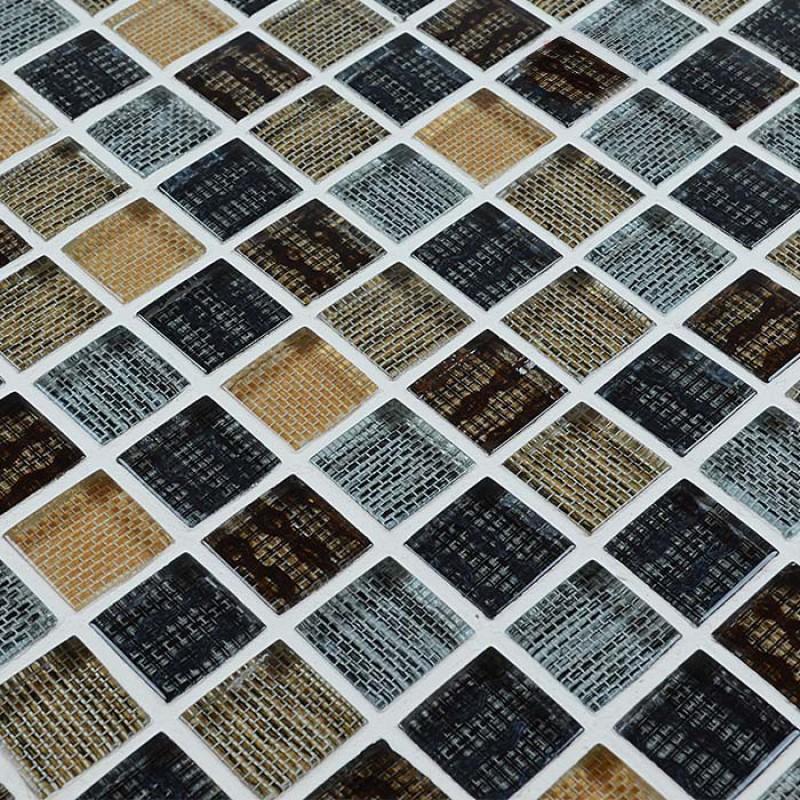 Gl Mosaic Wall Tile Sheets Square Crystal Backsplash Kitchen Ideas Bathroom Floor Stickers Tiles Patterns Hy0007