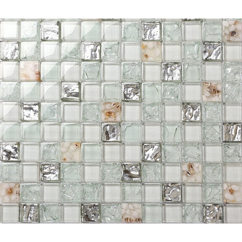 Backsplash tiles for kitchen and bathroom glossy glass mosaics 8mm cheap  mosaic sheets shower wall tile. Backsplash Tiles for Kitchen and Bathroom Glossy Glass Mosaics 8mm