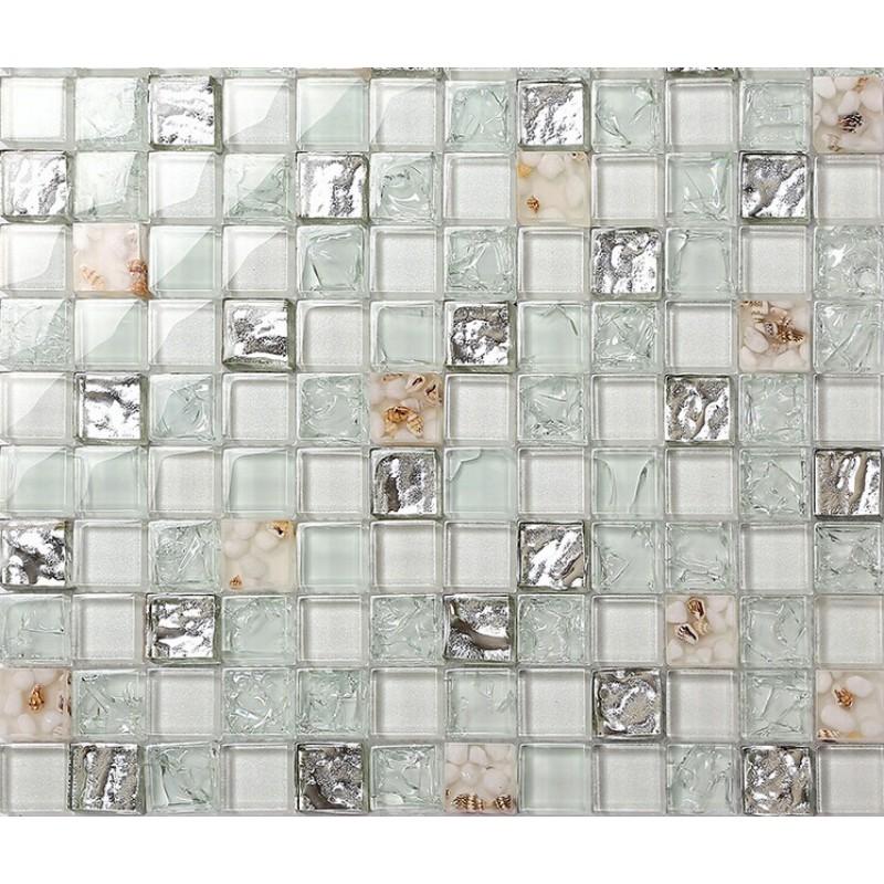 Beautiful Backsplash Tiles For Kitchen And Bathroom Glossy Glass Mosaics 8mm Cheap  Mosaic Sheets Shower Wall Tile ... Part 31