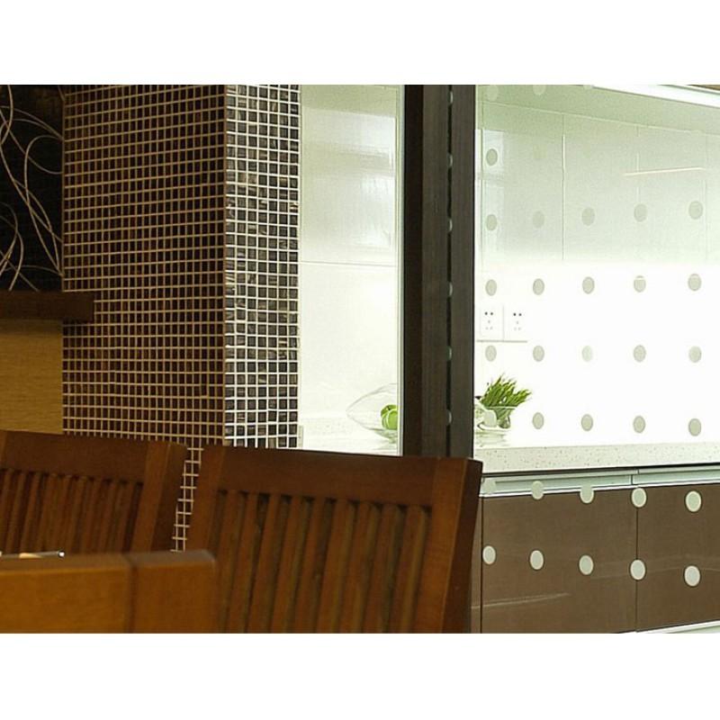 Vitreous glass mosaic shower tiles design brown glass tile ...