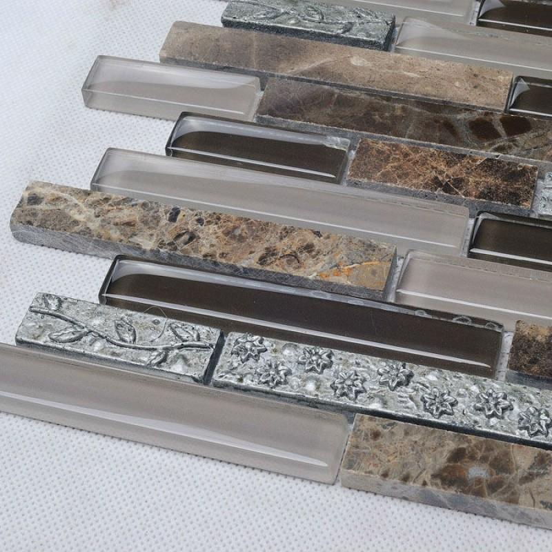 stone tile backsplash. image of photos of stone tile backsplash, Home decor