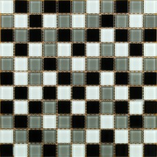 Crystal Glass Mosaic Tile  Art Wall KL026 kitchen Backsplash Tile Cheap Floor Stickers Design Bathroom Wall Shower Pool Tiles