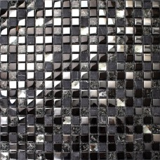 Crackle crystal mosaic diamond silver plating glass tile backsplash natural marble tile bathroom mirror backsplashes wall tiles SGT66B