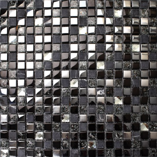 Tile Stories Ideas and Pictures Crackle crystal mosaic diamond