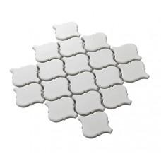 matte white lantern porcelain tile bathroom washroom wall backsplashes ceramic tiles decor pool tiles new art design high bake tile HCHB006