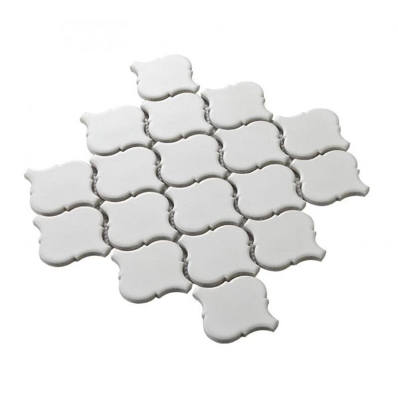 matte white lantern porcelain tile bathroom washroom wall ...