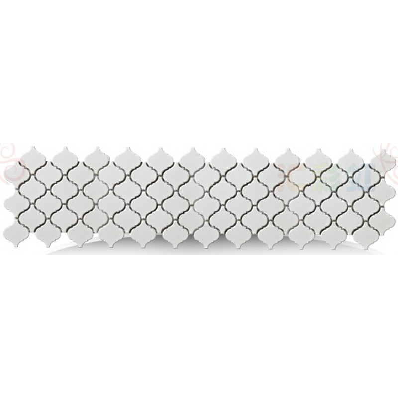 Matte white lantern porcelain tile bathroom washroom wall - White ceramic wall tiles bathroom ...