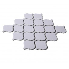 shiny white lantern porcelain tile bathroom washroom wall backsplashes ceramic tiles decor pool tiles new art design high bake tile HCHB008