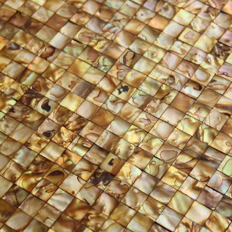 Freshwater Shell Square Tile Mosaic Shower Bathroom