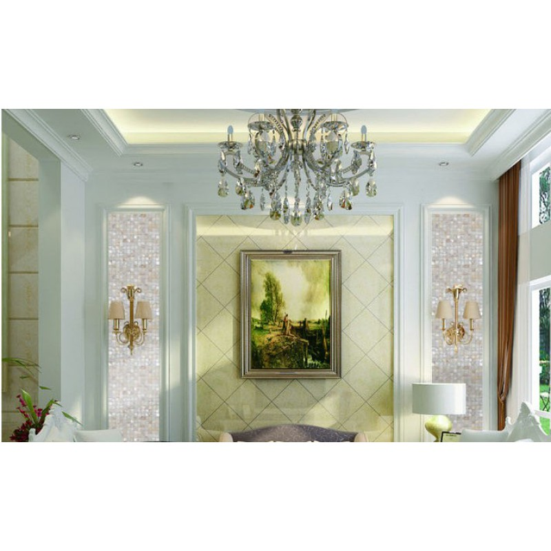 mother of pearl tile backsplash ideas bathroom shower designs white freshwater shell mosaic sheets cheap wall