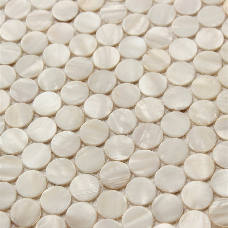 Penny Round Backsplash: Penny Round Backsplash Tiles For Kitchen And Bathroom Wall