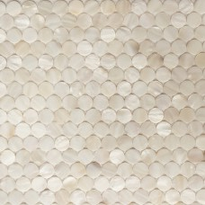 Penny round backsplash tiles for kitchen and bathroom wall mother of pearl shell mosaic sheets seashell floor tiles MPMC01