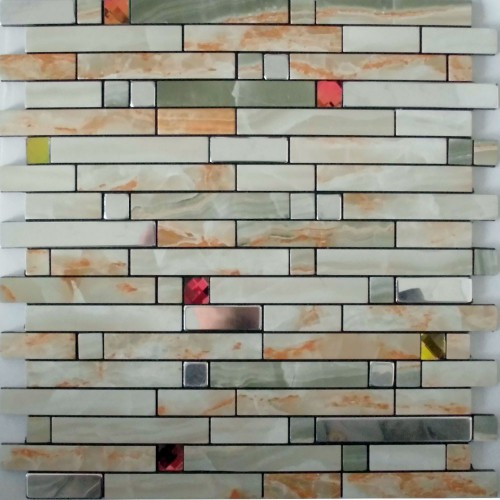 metal wall tiles kitchen backsplash red crystal glass diamond adhesive
