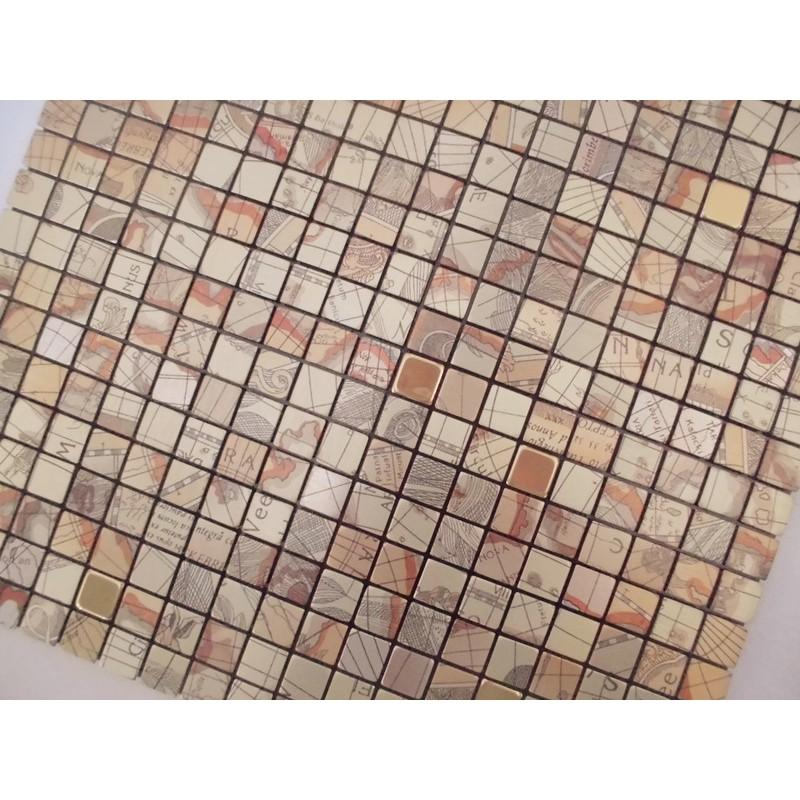 metal glass mosaic sheets aluminum alucobond tile globe