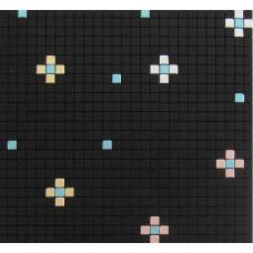 metallic mosaic alucobond tile kitchen backsplash wall tiles aluminum ACP material MH-202 black or blue metal bathroom tiles