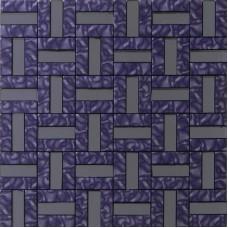 kitchen backsplash cheap metallic mosaic alucobond tile wall tiles aluminum ACP material MH-274 rectangle metal sheet bathroom tiles