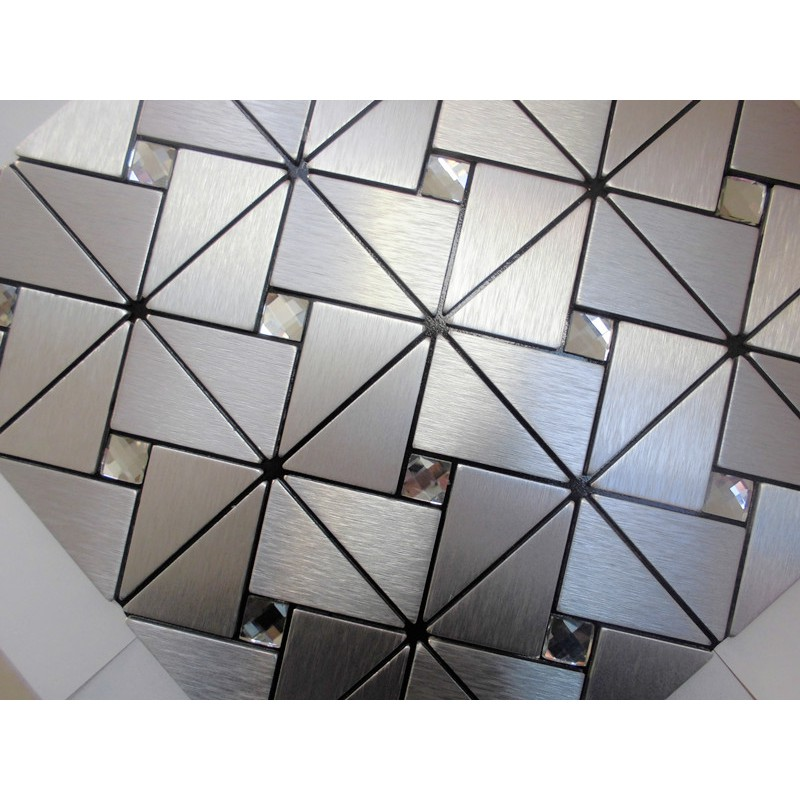metal glass mosaic diamond brushed aluminum alucobond tile metal glass mosaic brushed aluminum alucobond tile kitchen