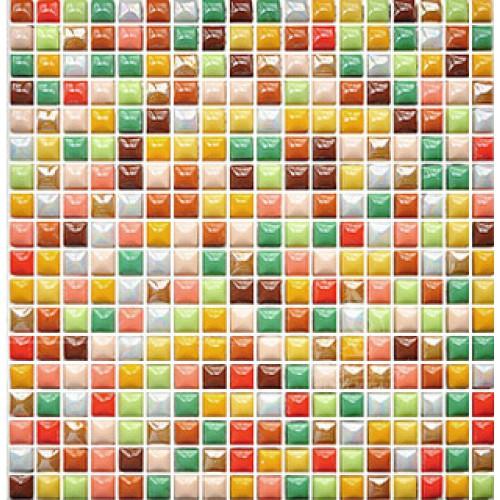 "Glazed porcelain tile 3/5"" Kitchen backsplash tiles mixed colors Ceramic porcelain pebble tile MZ24-1 Bathroom mosaic wall tiles"