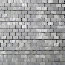 White shell subway tile mother of pearl fresh water seashell mosaic sheets  kitchen backsplash cheap bathroom wall tiles MPC005