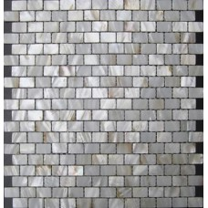 Natural shell subway tile mother of pearl fresh water seashell mosaic sheets kitchen backsplash cheap bathroom wall tiles MPC008