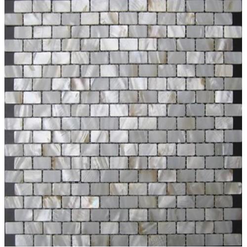 Natural shell subway tile mother of pearl mosaic kitchen backsplash bathroom wall tiles