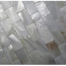 White mother of pearl tile backsplash seamless subway mosaic sheets freshwater shell mosaics for kitchen and bathroom wall tiles designs MP008M