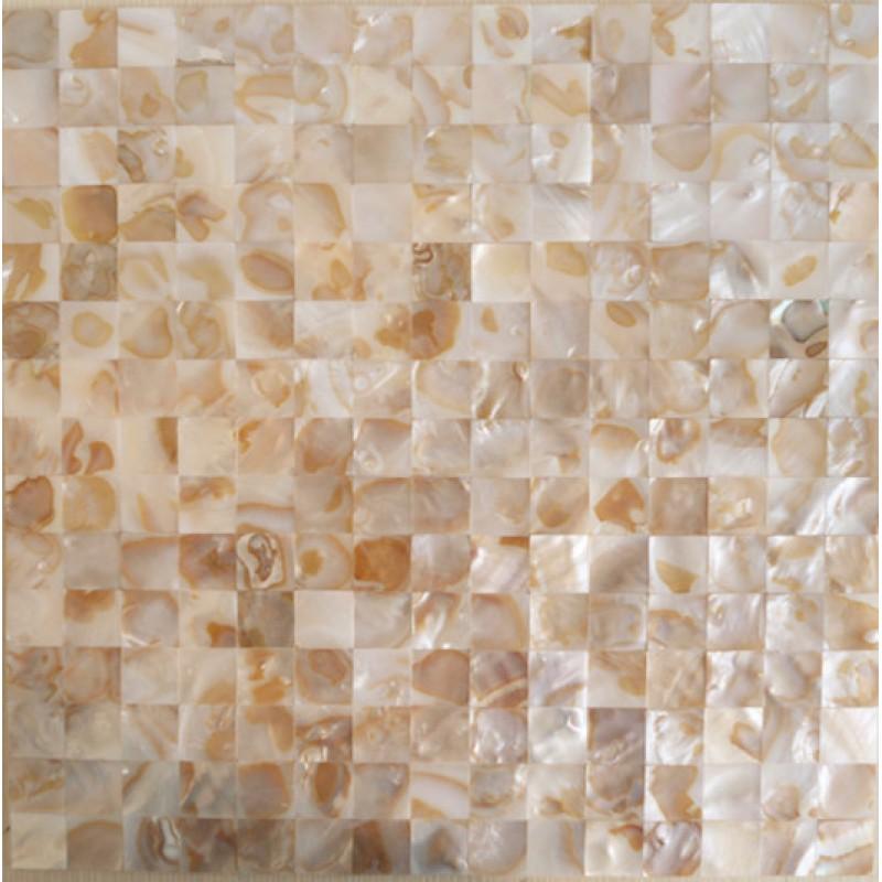 Natural Shell Mosaic Floor Tiles Bathroom Freshwater Mother of Pearl Tile Backsplash Ideas Kitchen Wall