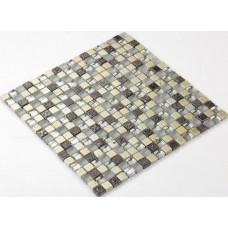 crystal glass stone mosaics silver kitchen backsplash cheap glass mosaic sheets flooring RGS002 bathroom shower mirrored wall designs