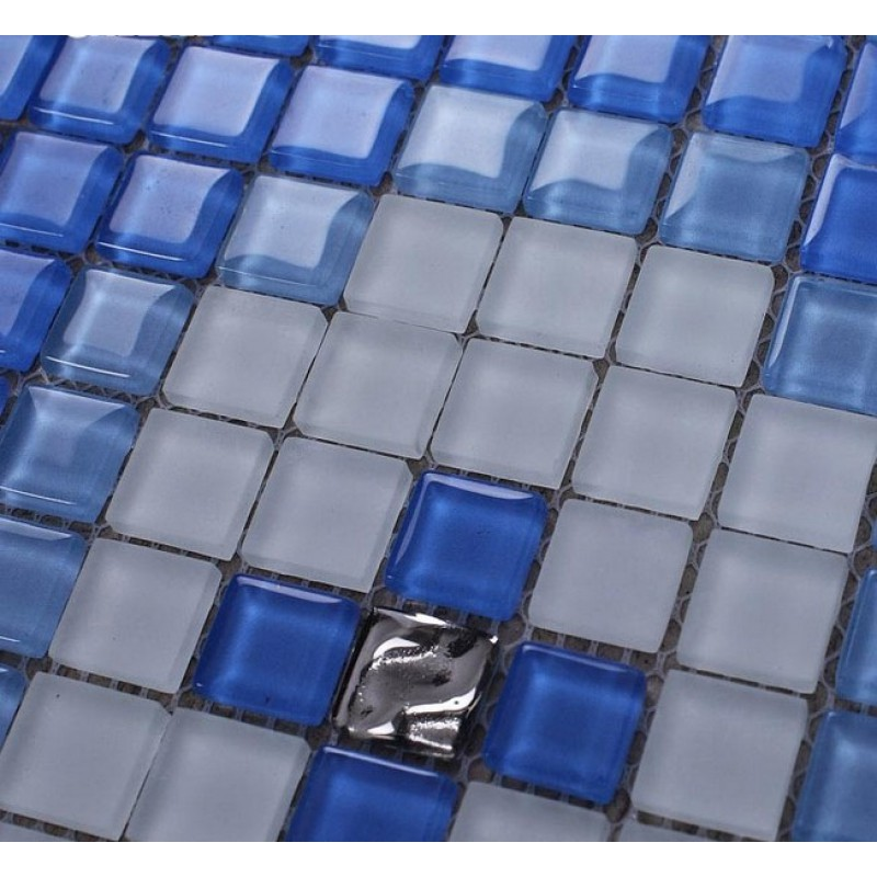 Backsplash Wall Tiles frosted Glass Mosaic Tile puzzle Mosaic