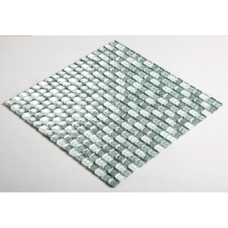 glass mosaic tile sheets modern fashion kitchen backsplash cheap ...